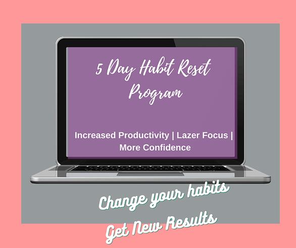 5 day habit reset program